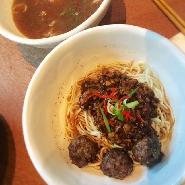 Beef Noodles With 150-day Grain fed Angus Sirlion