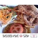 #igsg #igdaily #instasg #instapic #igfoodies #instadaily #igfoodies #instagrammer #instagrapher #ilovesharingfood #sgfoodies #foodporn #foodartstylesgf #gf_singapore #burpple #8dayseatout  #lifeisdeliciousinsingapore breaded pork chop #pork #western