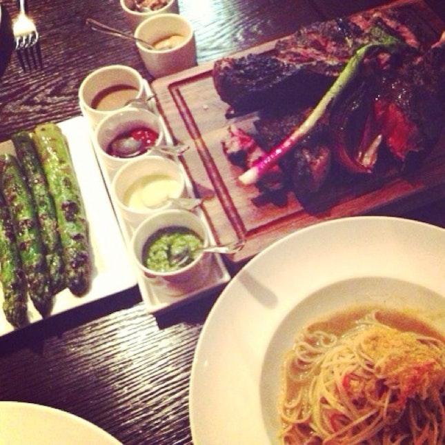Florentine Steak & Angelhair Pasta