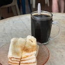 Butter Kaya Toast And Kopi O Kosong