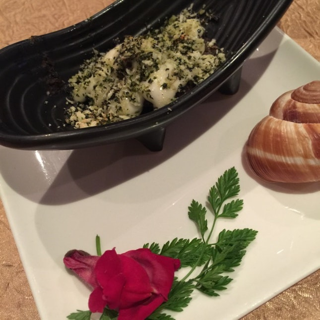 Herb Crusted Mushroom Escargot