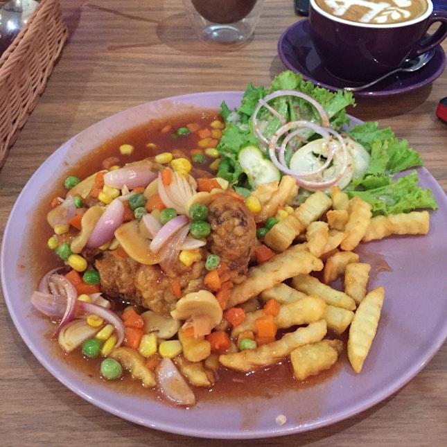Hainan Chicken Chop