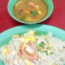 Authentic Thai Seafood Fried Rice + Tom Yum Soup