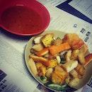 #rojakmama for #dinner #foodie #foodporn #geebonciteats #atwork