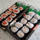 #sushi #japanese #takomaki #sakemayo #salmonmayo #foodie #foodporn #yumyum