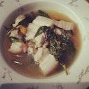 #porksinigang #fevergoaway #breakfast 🍲🍵🍴