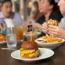The burger #foodporn #burpple #cheeseburger #foodphotography