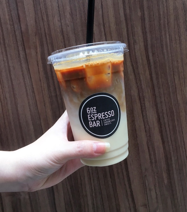 Iced Soy Latte ($6.20)