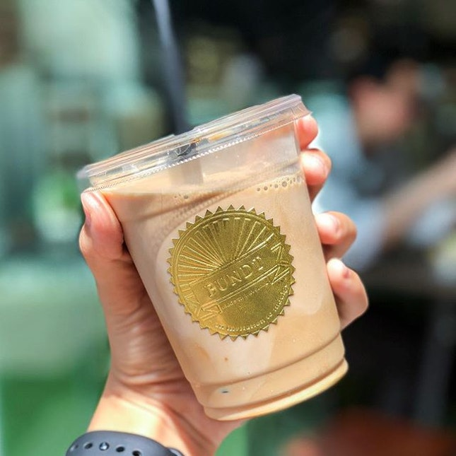Back with Cold Brew Saturdays with an Iced American White ($4.5) - why is this under my cold brew category?