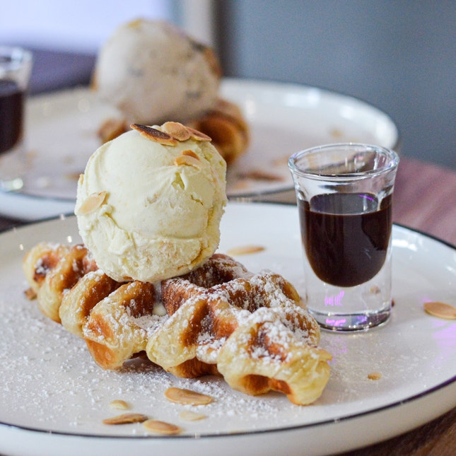 Croffles (croissant X Waffles)