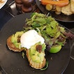 Avocados and Poached Egg On Toast