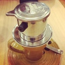 tried Trung Nyugen's #vietnamese drip #coffee - seriously great!