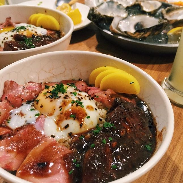 Beef, Foie Gras And Seductive Onsen Egg