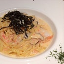 Inspiration for next #pasta dish- mentaiko cream with seafood :).