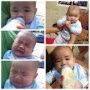 My Baby Nephew ❤️😘 #jakarta#indonesia#baby#cute#nephew#cry#drink#milk#botak#instagram#lineplay#chubbhy#countdown#newyear#funny#bestoftheday