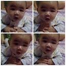 He so cute loh My Baby Nephew ❤️😘 #jakarta#indonesia#baby#cute#nephew#cry#drink#milk#botak#instagram#lineplay#chubbhy#countdown#newyear#funny#bestoftheday