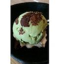 Green Tea Ice cream 😀👄👅👍🍨🍧🍦 #greentea#icecream#ramenplay#delicious#foodaddicted#foodporn#bestoftheday#tagforlikes#instagram#bishan#linesingapore