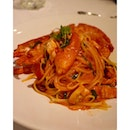 Lobster linguine - make that a want for dinner.
