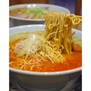 Completely a laksa version of ramen with the spicy miso broth!