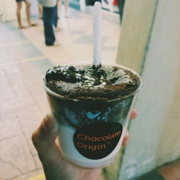 Chocolate Lava In A Cup