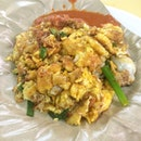 Oh Luak Oyster Omelette