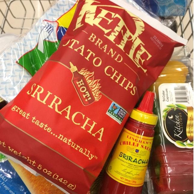 Kettle Sriracha Chips