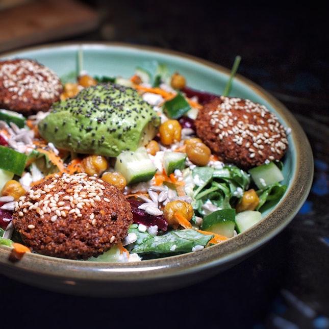 Falafel Salad $18