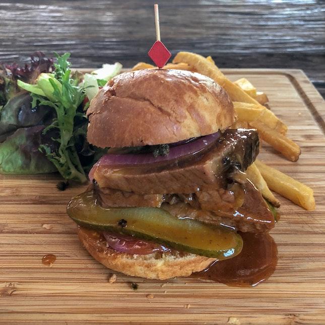 Wagyu Beef Brisket Burger $18