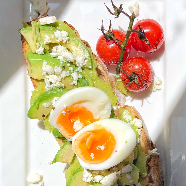 Avocado Egg Toast $15