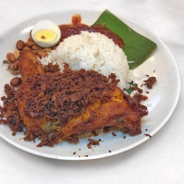Nasi Lemak Ayam Goreng RM 10.5