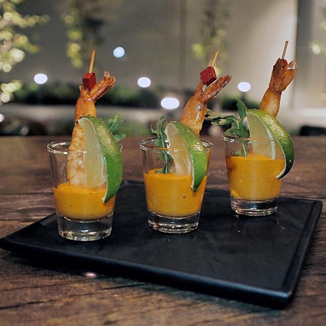 Shrimp Skewers $10