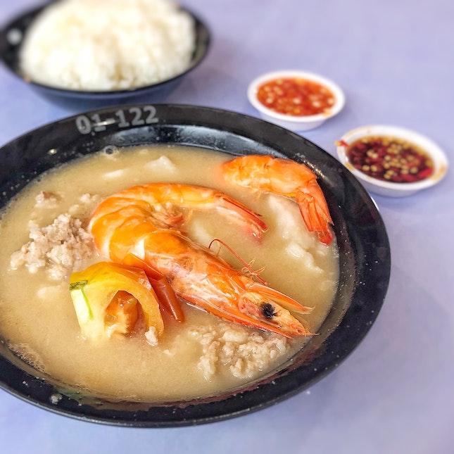 Seafood Soup w/ rice $6.5
