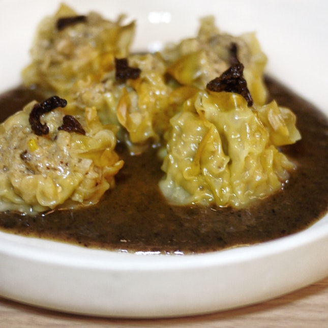 Free-range Chicken & Chanterelle Siew Mai