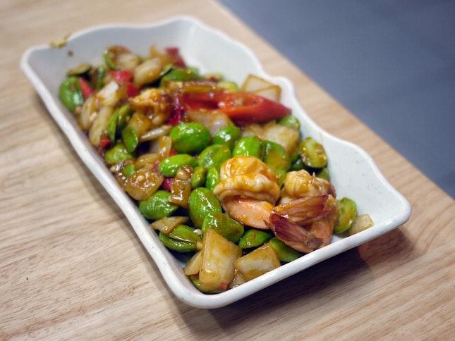 Spicy Petai w/ Prawns $15