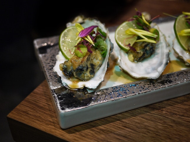 Japanese Oysters $22