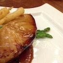 Honey-Glazed Black Cod