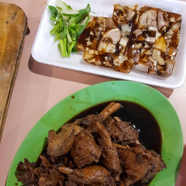 Hawker Food In Singapore