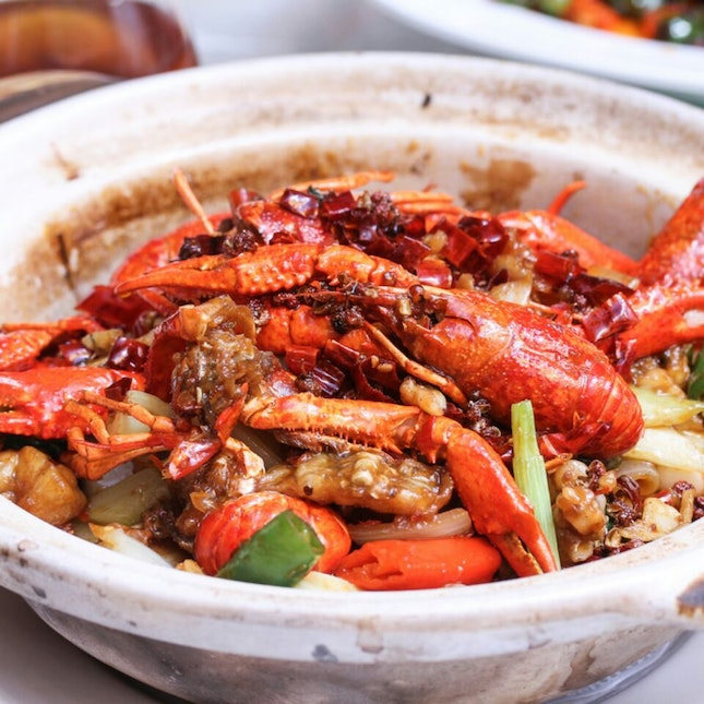 Si Chuan Dou Hua Launches Baby Lobster Promotion