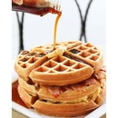 I love waffles.