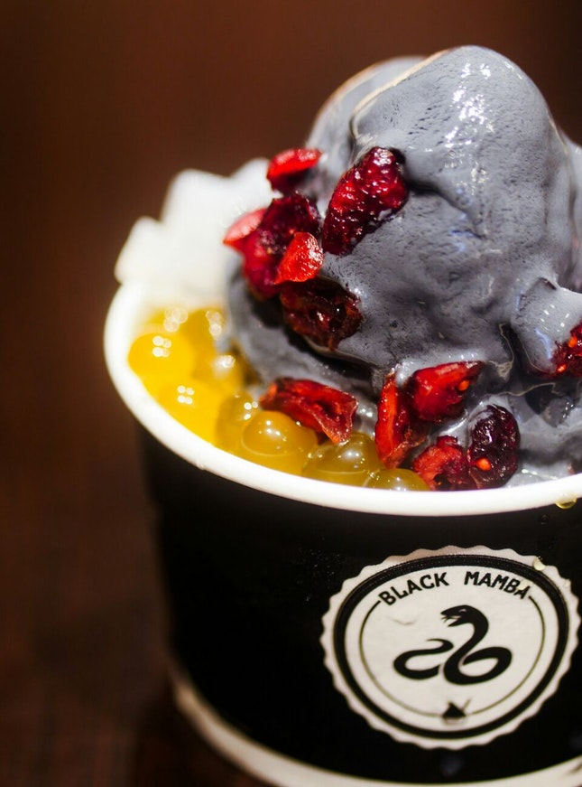 Charcoal Yogurt that Could Save Your Life