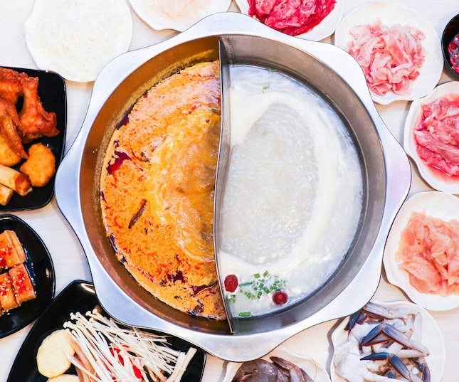 Steamboat Feast With A Laksa Twist