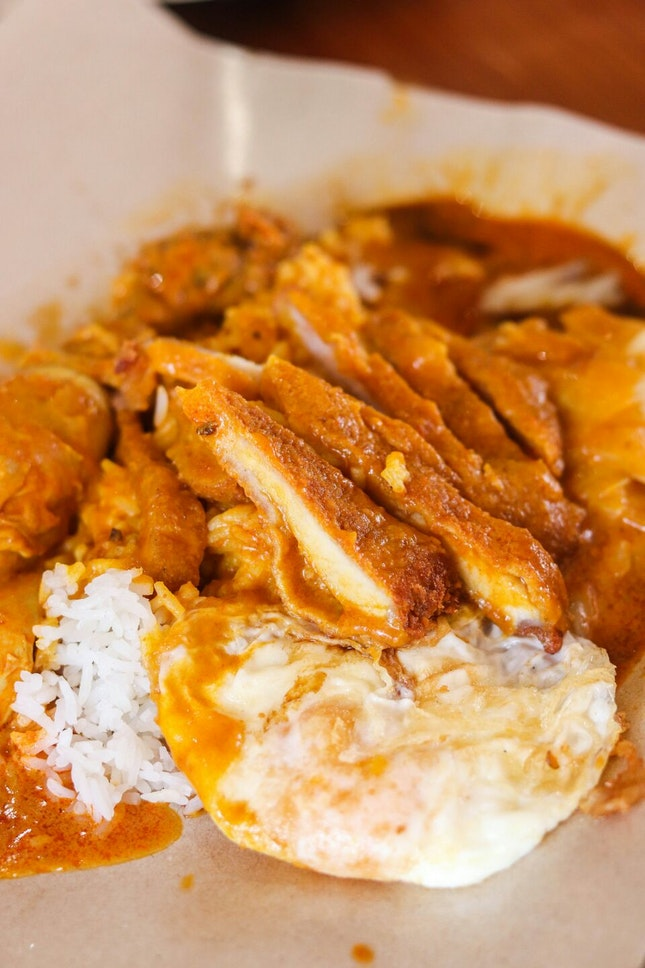 A Hidden Hainanese Curry Rice Stall in Clementi