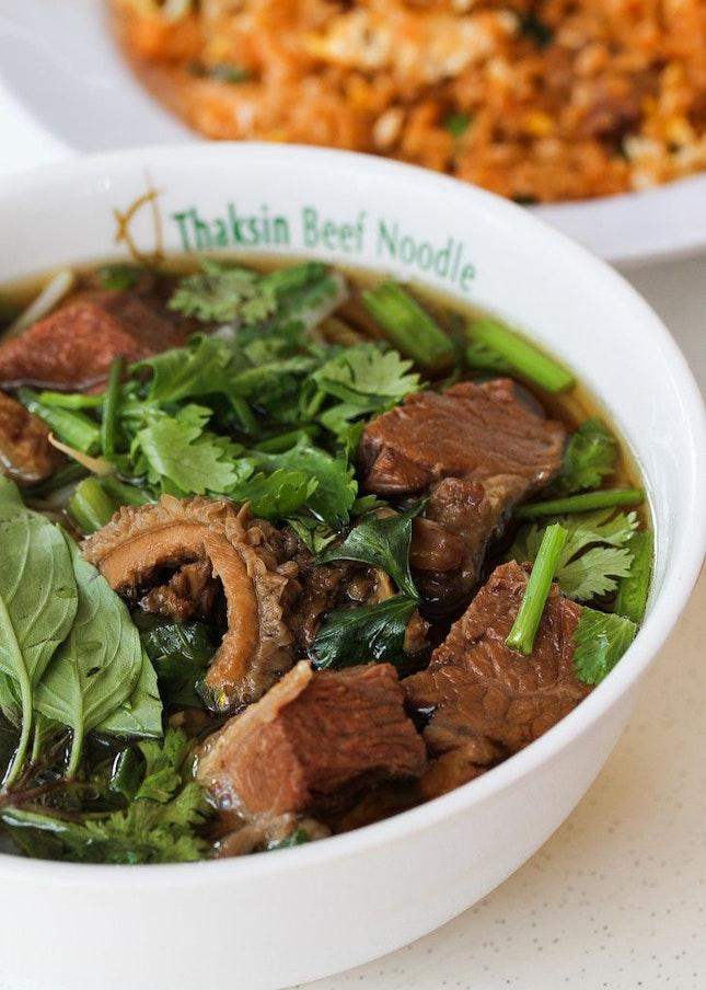 Halal Thai-style Beef Noodles