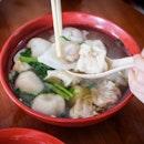Handmade Foo Chow Fishball at Beach Road