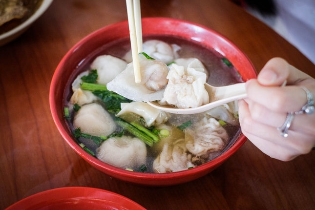Handmade Foo Chow Fishball at Beach Road