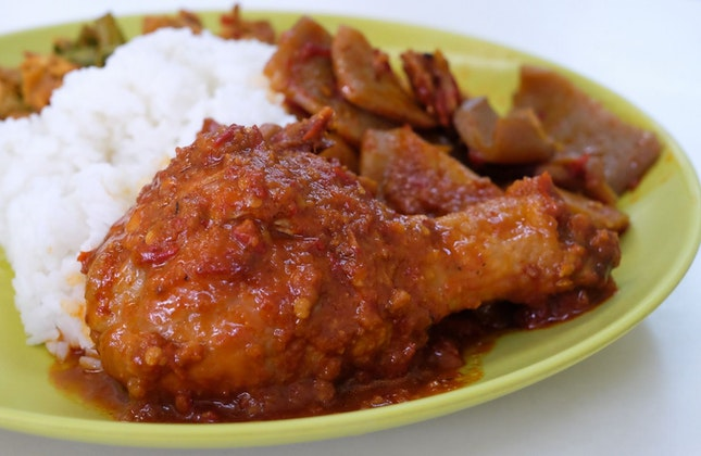 Affordable Nasi Padang in Fortune Centre!
