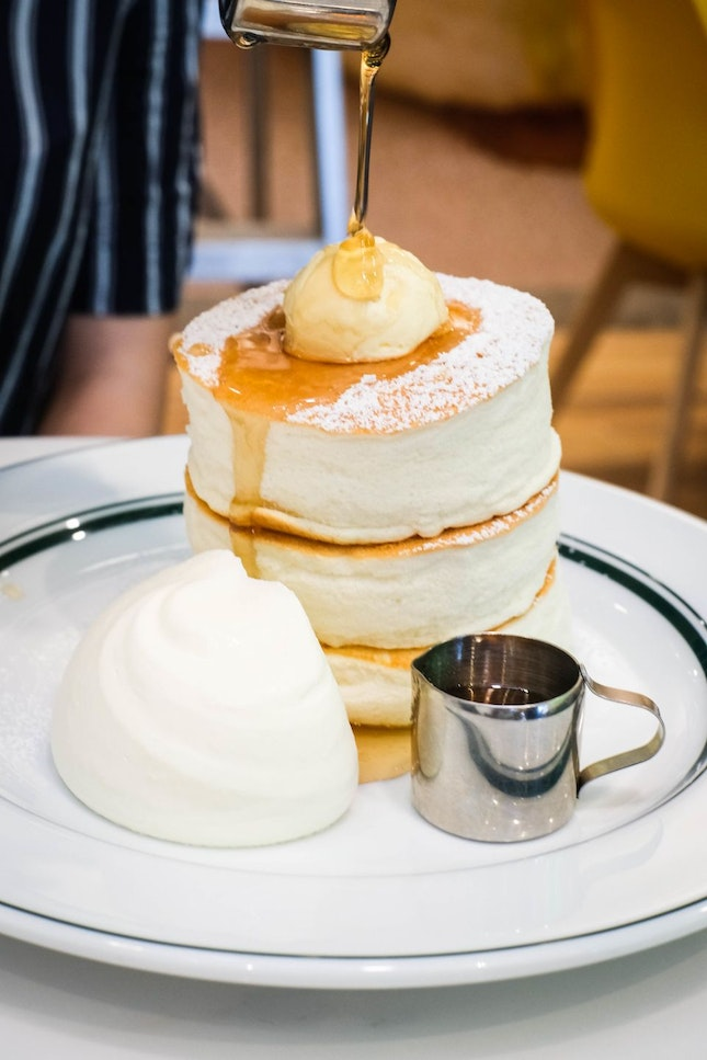 The Godfather of all Souffle Pancakes