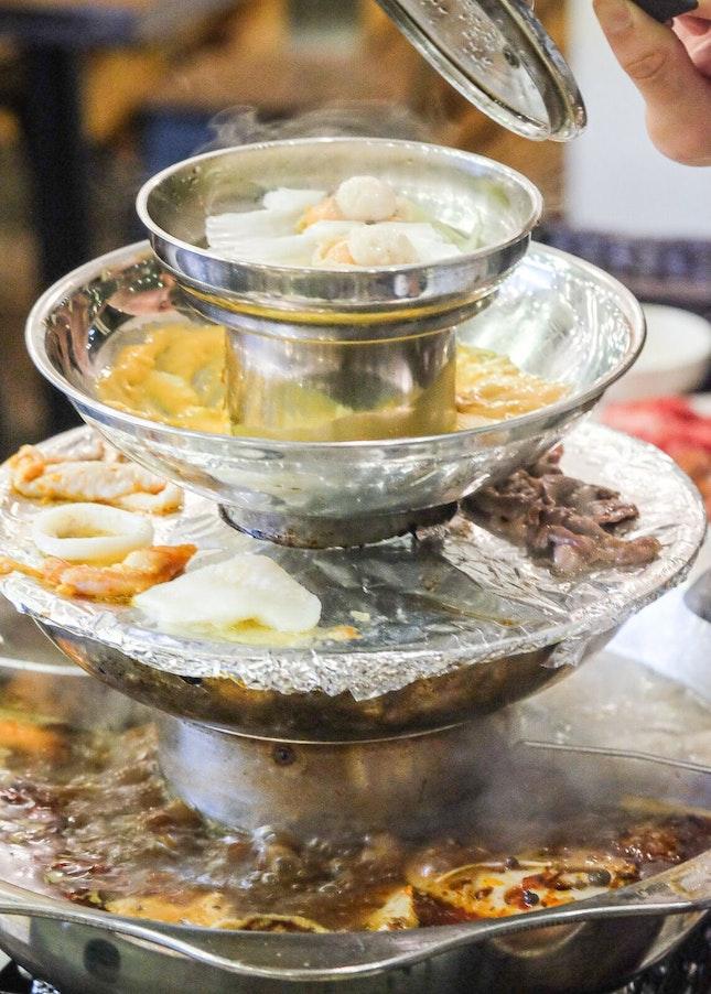 4-Tier Pagoda Halal Steamboat Buffet