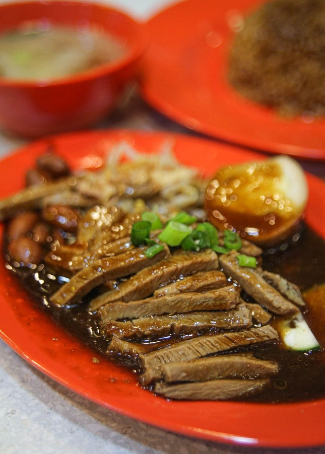 Delicious & Affordable Braised Duck Rice in the CBD!