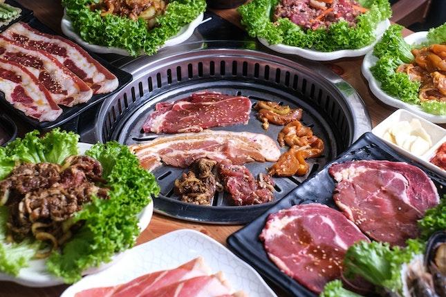 Enjoy BBQ, Steamboat, Korean Army Stew, Mala Soup, Mala Xiang Guo and Lok Lok Under One Roof